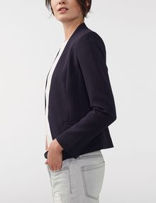 ARMANI EXCHANGE Clean Cropped Blazer 3/4 sleeve blazers Woman d