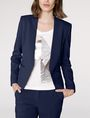 ARMANI EXCHANGE Clean Cropped Blazer 3/4 sleeve blazers Woman a