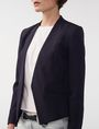 ARMANI EXCHANGE Clean Cropped Blazer 3/4 sleeve blazers Woman e