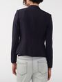 ARMANI EXCHANGE Clean Cropped Blazer 3/4 sleeve blazers Woman r