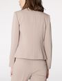 ARMANI EXCHANGE Clean Cropped Blazer Blazer Woman r