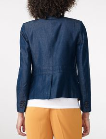 ARMANI EXCHANGE Tailored Denim Blazer One button blazers Woman r