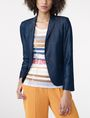 ARMANI EXCHANGE Tailored Denim Blazer One button blazers D f