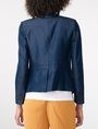 ARMANI EXCHANGE Tailored Denim Blazer One button blazers D r