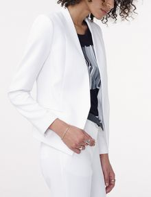 ARMANI EXCHANGE Clean Cropped Blazer Blazer D d