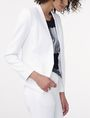 ARMANI EXCHANGE Clean Cropped Blazer Blazer [*** pickupInStoreShipping_info ***] d