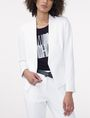 ARMANI EXCHANGE Clean Cropped Blazer Blazer [*** pickupInStoreShipping_info ***] f