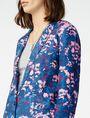 ARMANI EXCHANGE Bold Linen Blazer One button blazers D e