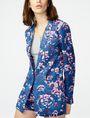 ARMANI EXCHANGE Bold Linen Blazer One button blazers D f