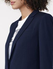 ARMANI EXCHANGE Minimal Longline Blazer One button blazers D e