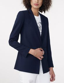 ARMANI EXCHANGE Minimal Longline Blazer One button blazers D f