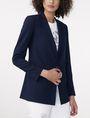 ARMANI EXCHANGE Minimal Longline Blazer One button blazers D f