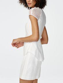 ARMANI EXCHANGE Layered Poplin Shirtdress Long dresses Woman d