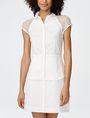 ARMANI EXCHANGE Layered Poplin Shirtdress Long dresses Woman f