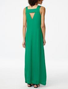 Armani Exchange V Neck Cutout Maxi, Maxi Dresses for Women - A X ...