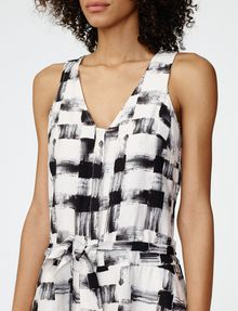 ARMANI EXCHANGE Racerback Romper Rompers Woman e