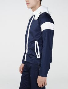 ARMANI EXCHANGE Racing Stripe Colorblock Jacket Jacket U d