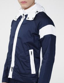 ARMANI EXCHANGE Racing Stripe Colorblock Jacket Jacket U e
