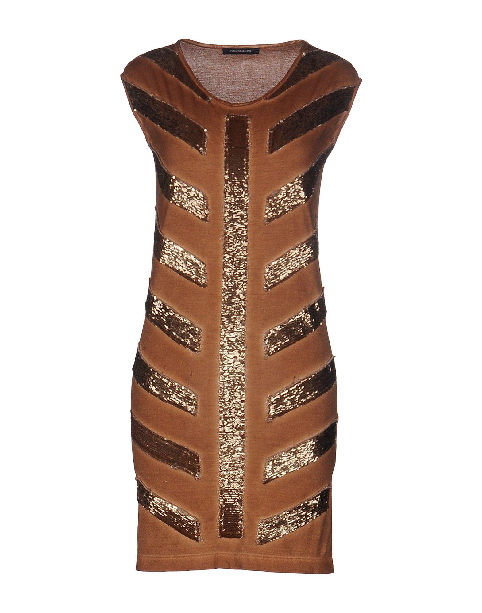 PLEIN SUD JEANIUS Короткое платье plein sud длинное платье