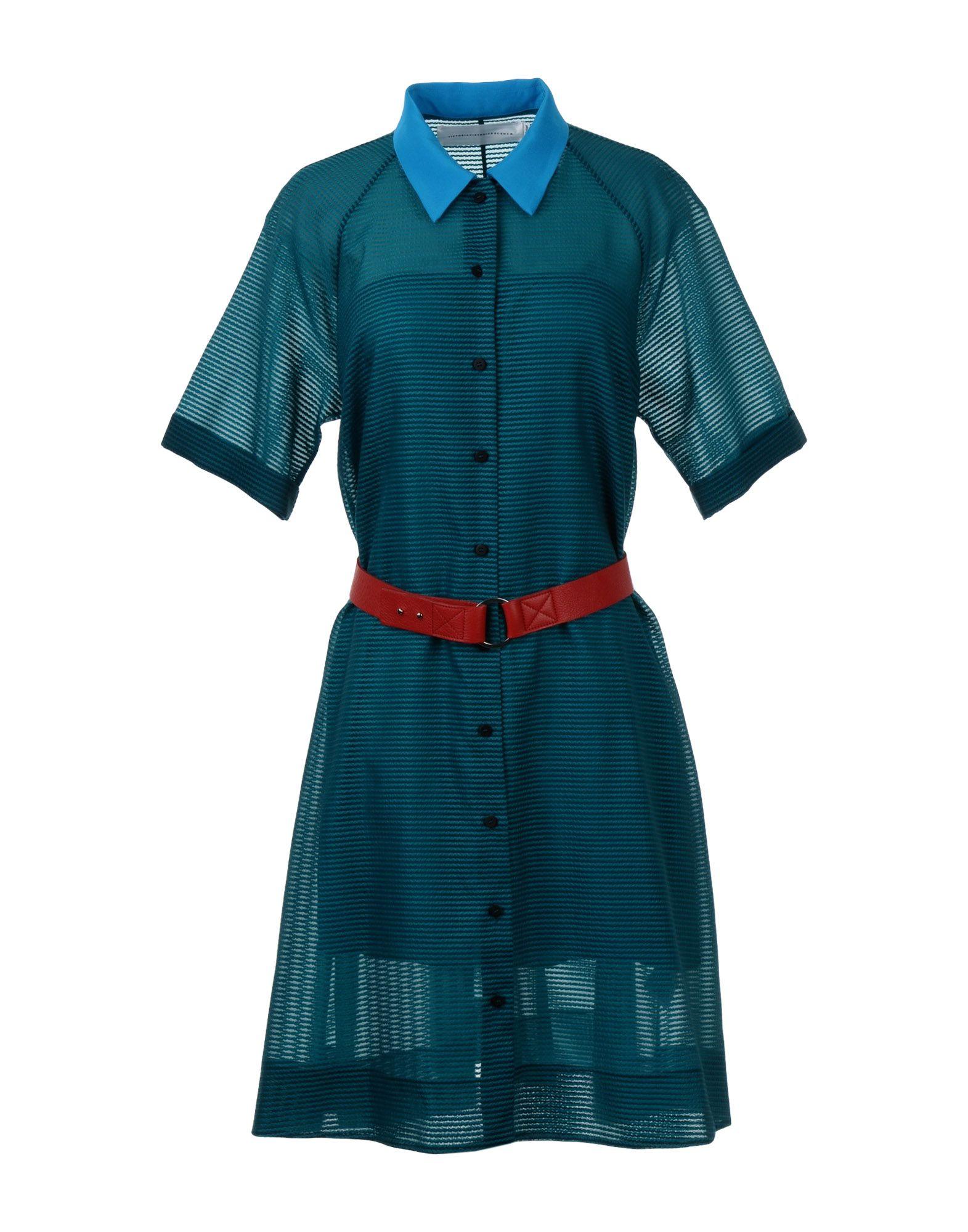 VICTORIA, VICTORIA BECKHAM Короткое платье цена