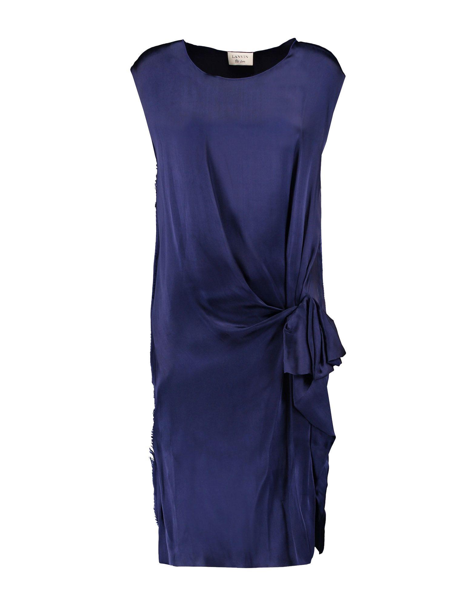Фото LANVIN Платье до колена. Купить с доставкой