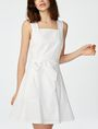 ARMANI EXCHANGE Poplin Tie-Waist Sundress Long dresses D f