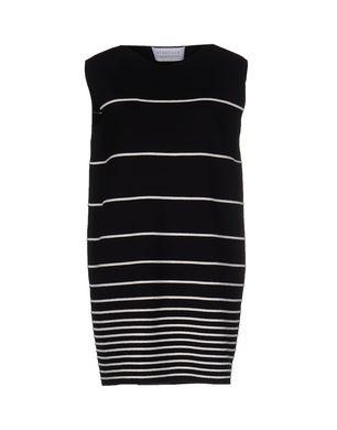 GIANLUCA CAPANNOLO Damen Kurzes Kleid Farbe Schwarz Größe 4 Sale Angebote