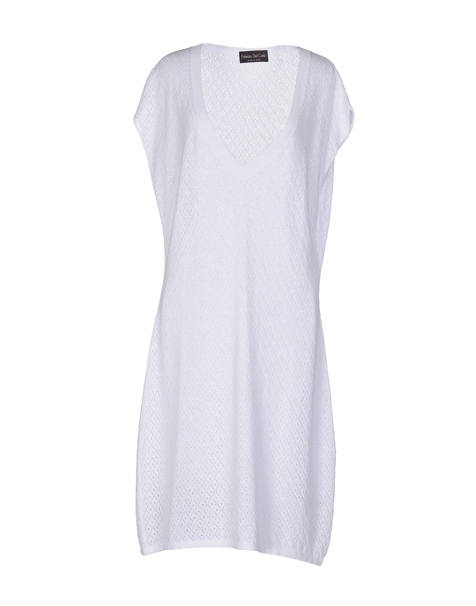 цена  FABRIZIO DEL CARLO Платье до колена  онлайн в 2017 году