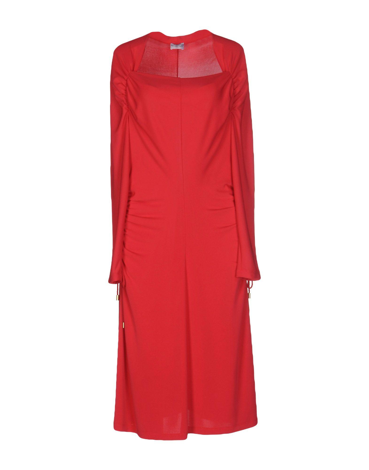 PHILOSOPHY di ALBERTA FERRETTI Платье до колена