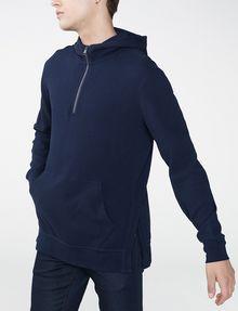 ARMANI EXCHANGE Jacquard Pullover Hoodie Zip-up Man d