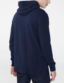 ARMANI EXCHANGE Jacquard Pullover Hoodie Zip-up Man r