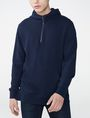ARMANI EXCHANGE Jacquard Pullover Hoodie Zip-up U f