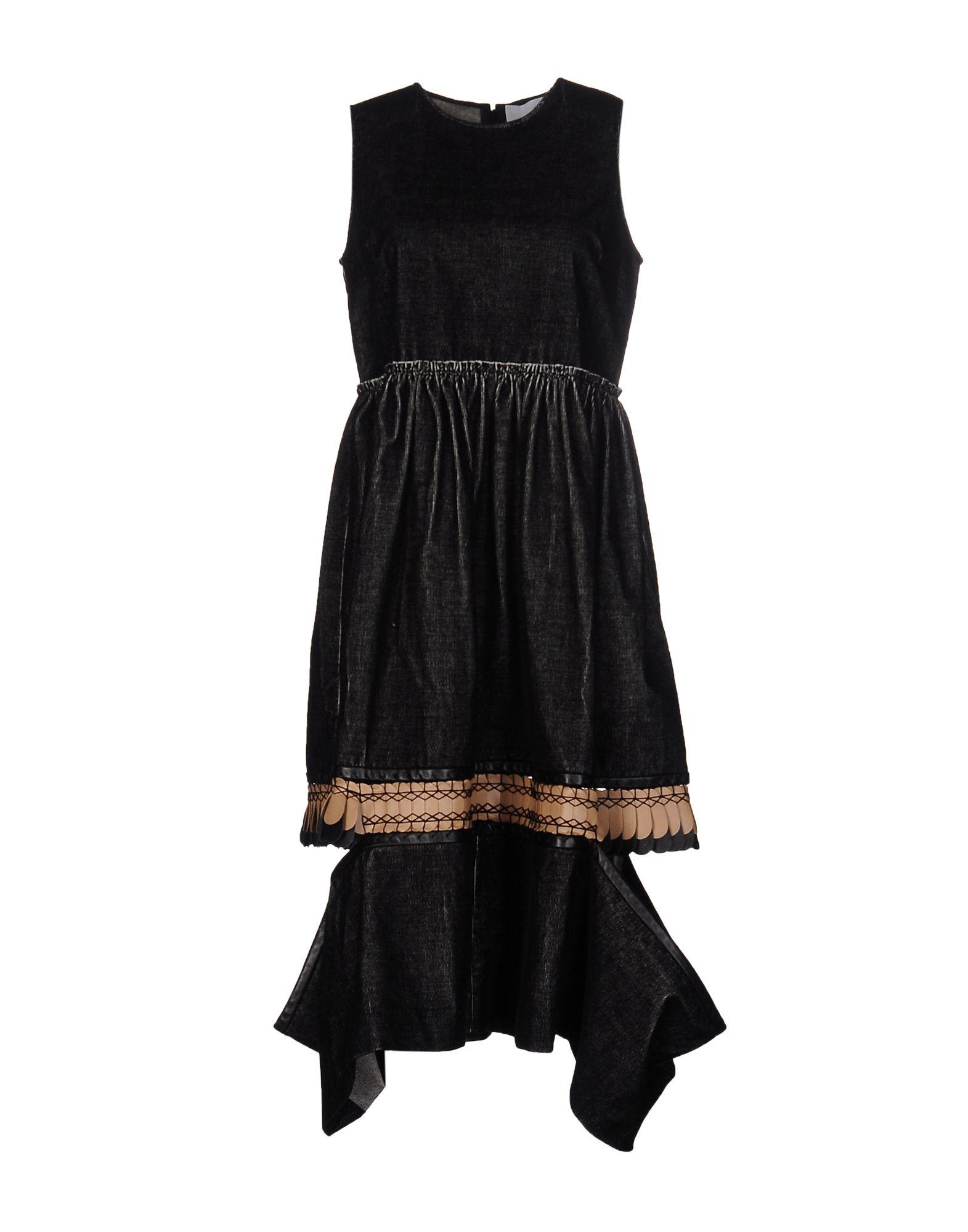 DANIELLE ROMERIL Knee-Length Dress in Black