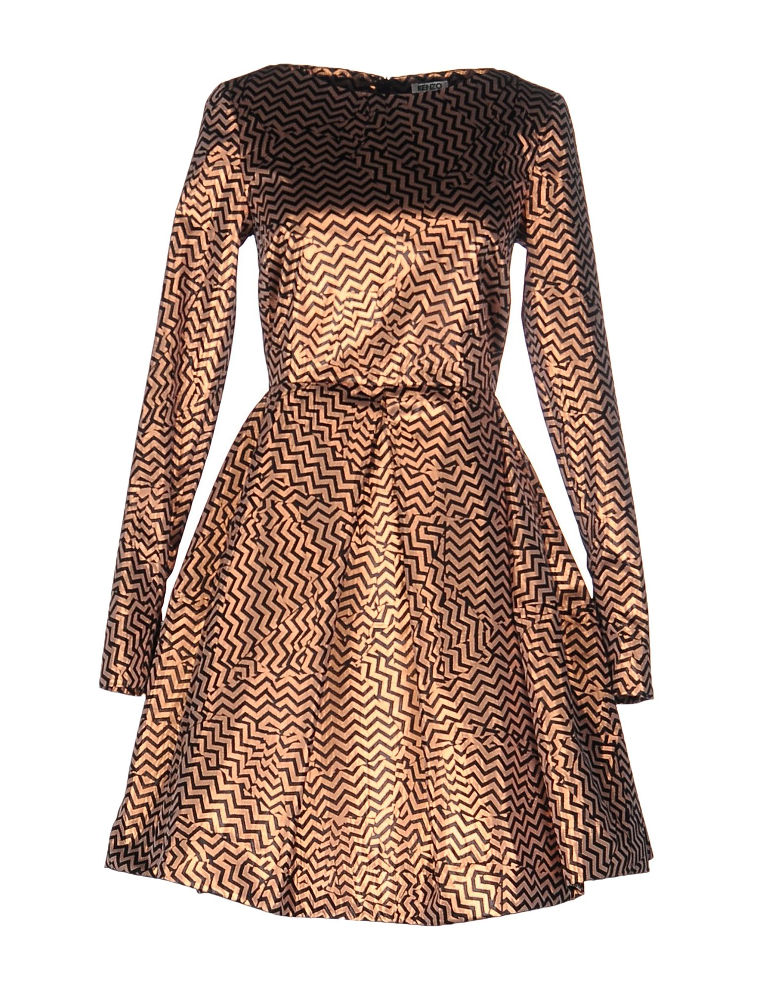KENZO Короткое платье kenzo длинное платье