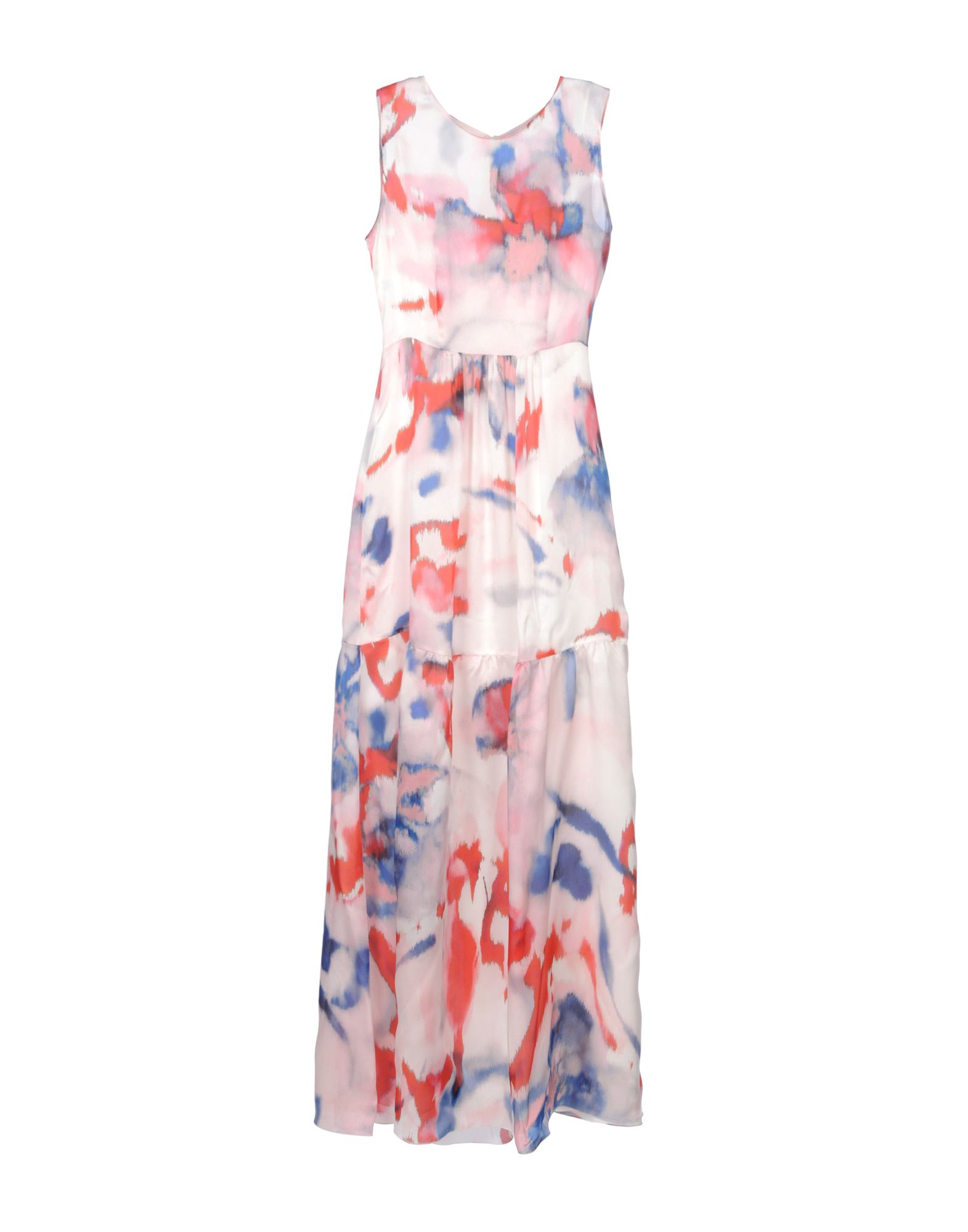 PHILOSOPHY di ALBERTA FERRETTI Длинное платье цены онлайн