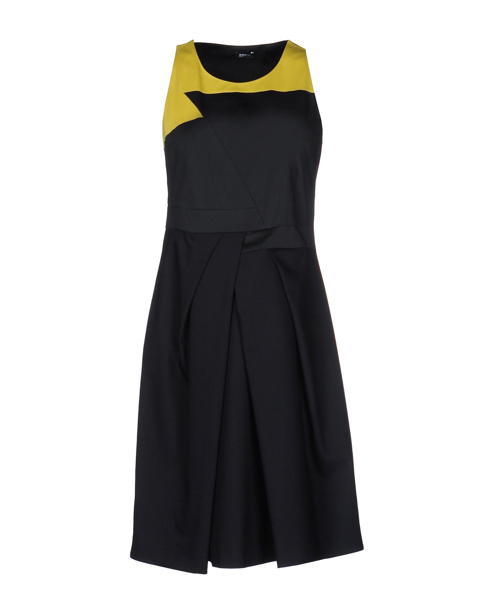 JIL SANDER NAVY Короткое платье блуза jil sander navy jil sander navy ji005ewfqu96