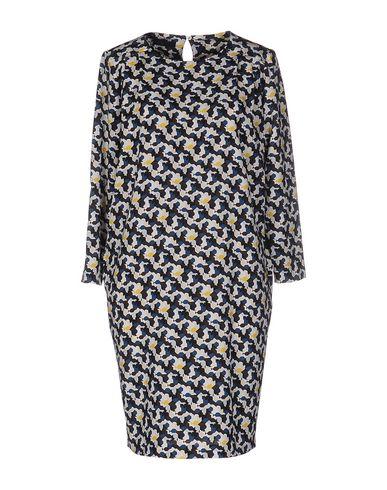 Купить Женское короткое платье BLUE LES COPAINS грифельно-синего цвета