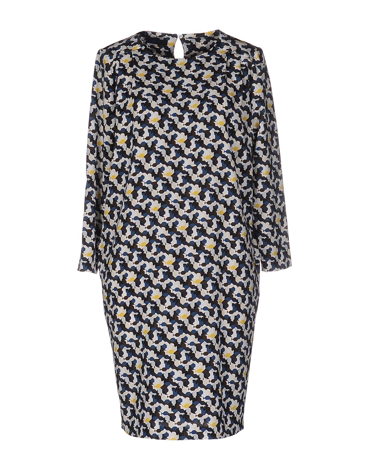 BLUE LES COPAINS Короткое платье les epices короткое платье