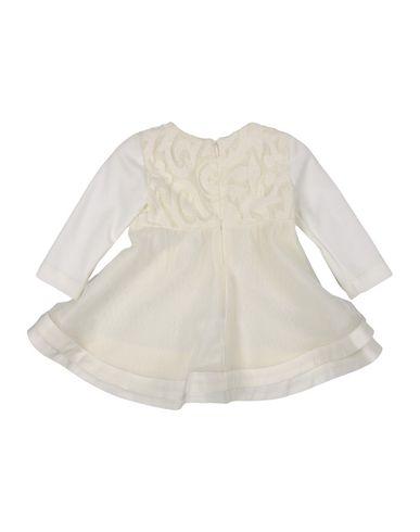 ALVIERO MARTINI 1a CLASSE Baby Kleid Weiß Größe 6 100% Baumwolle