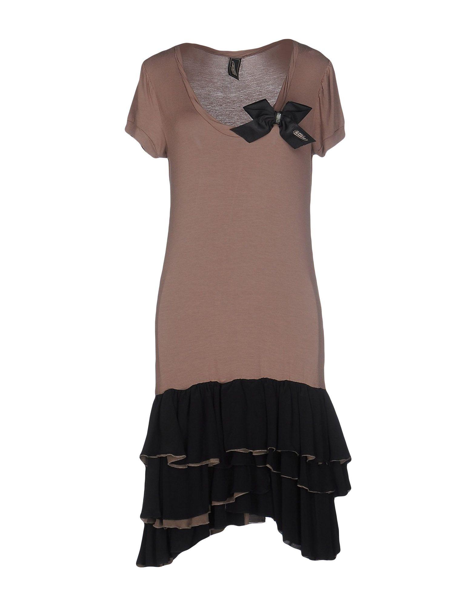 цена MISS BORSALINO Платье до колена онлайн в 2017 году