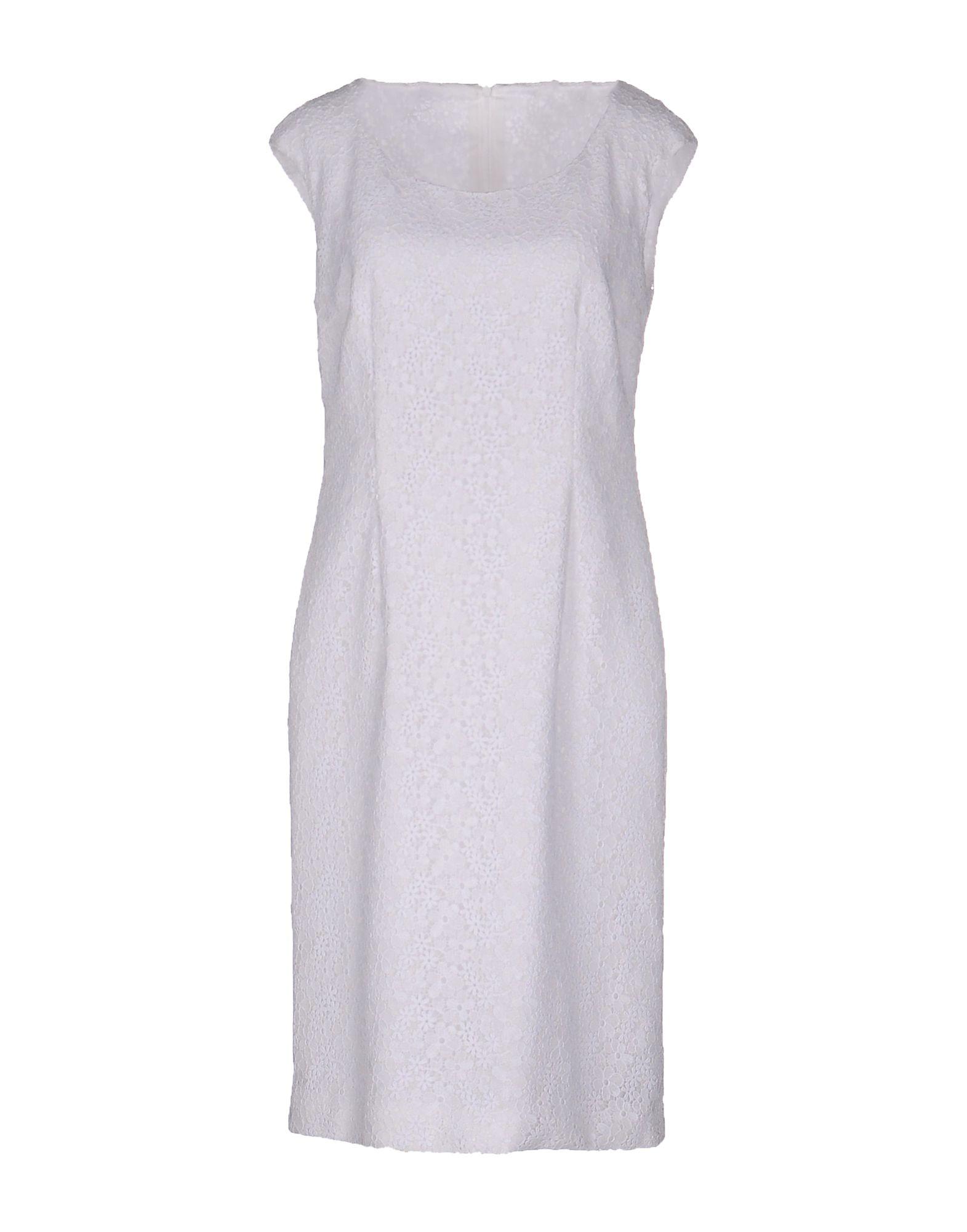 RENA LANGE Платье до колена rena lange футболка с короткими рукавами