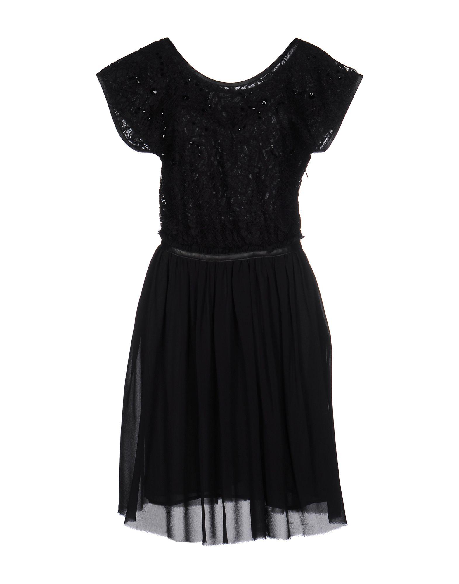 AUGUSTIN TEBOUL Короткое платье augustin teboul длинная юбка