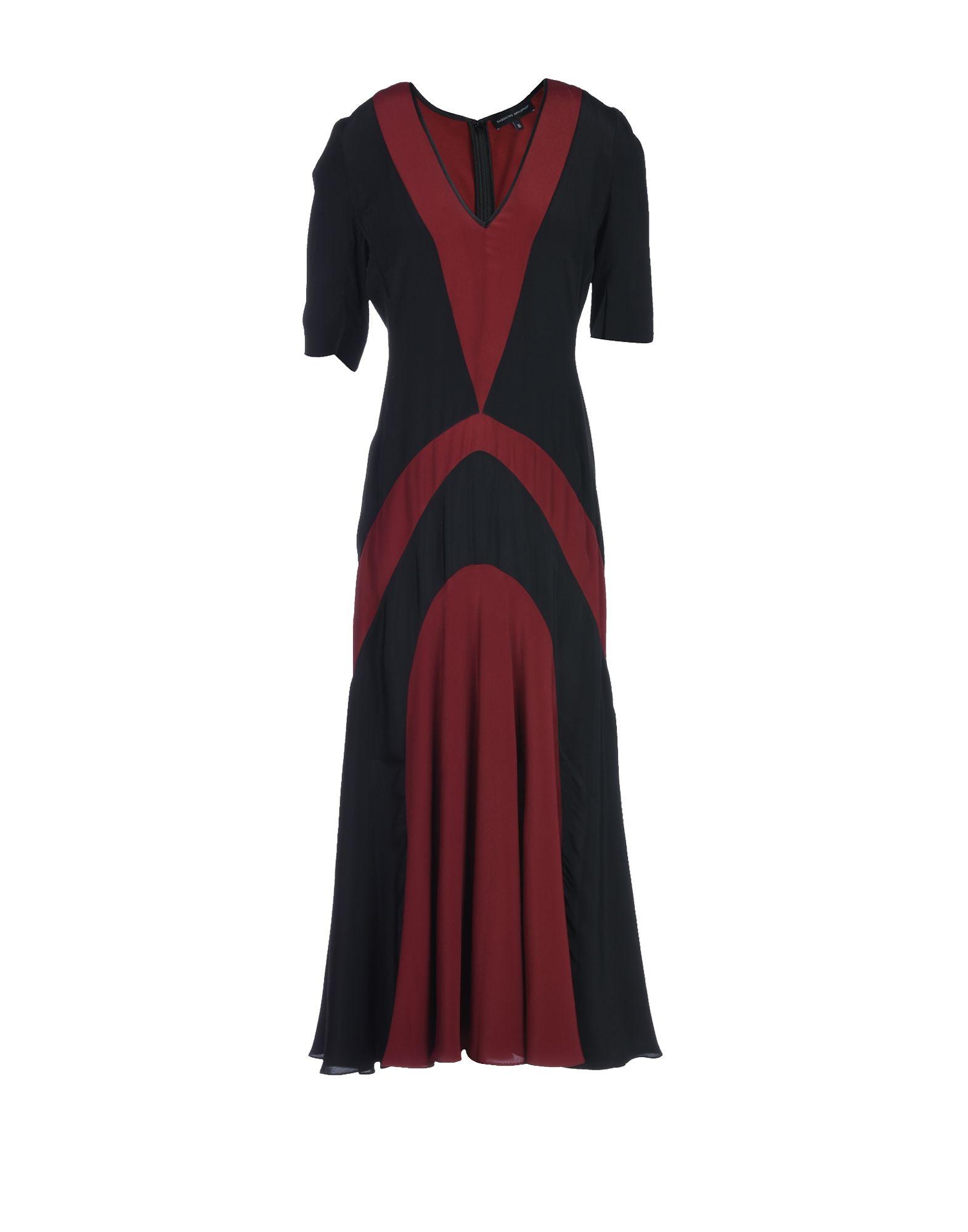 JONATHAN SAUNDERS Платье длиной 3/4 цена 2017