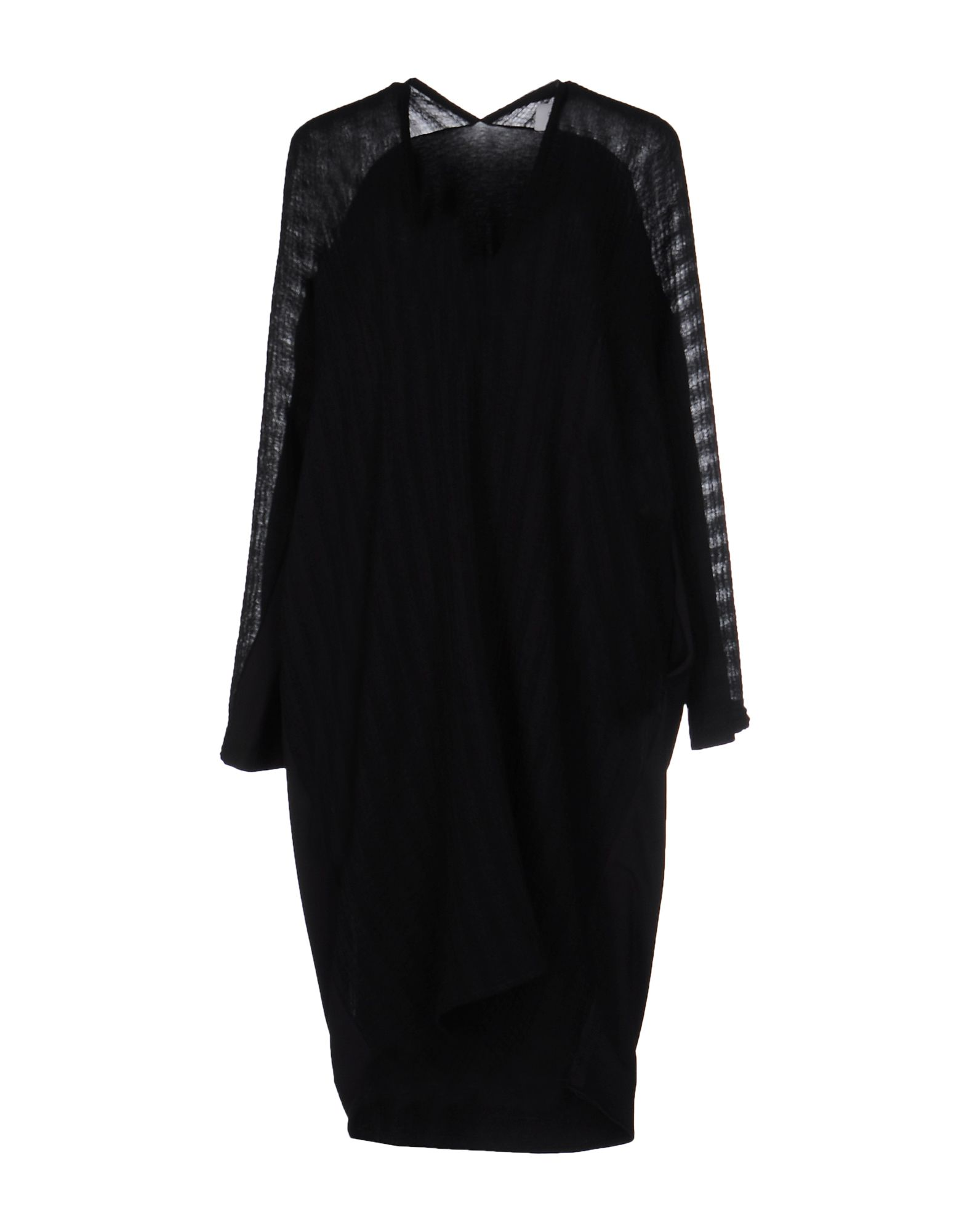 PAOLO ERRICO Knee-Length Dresses in Black