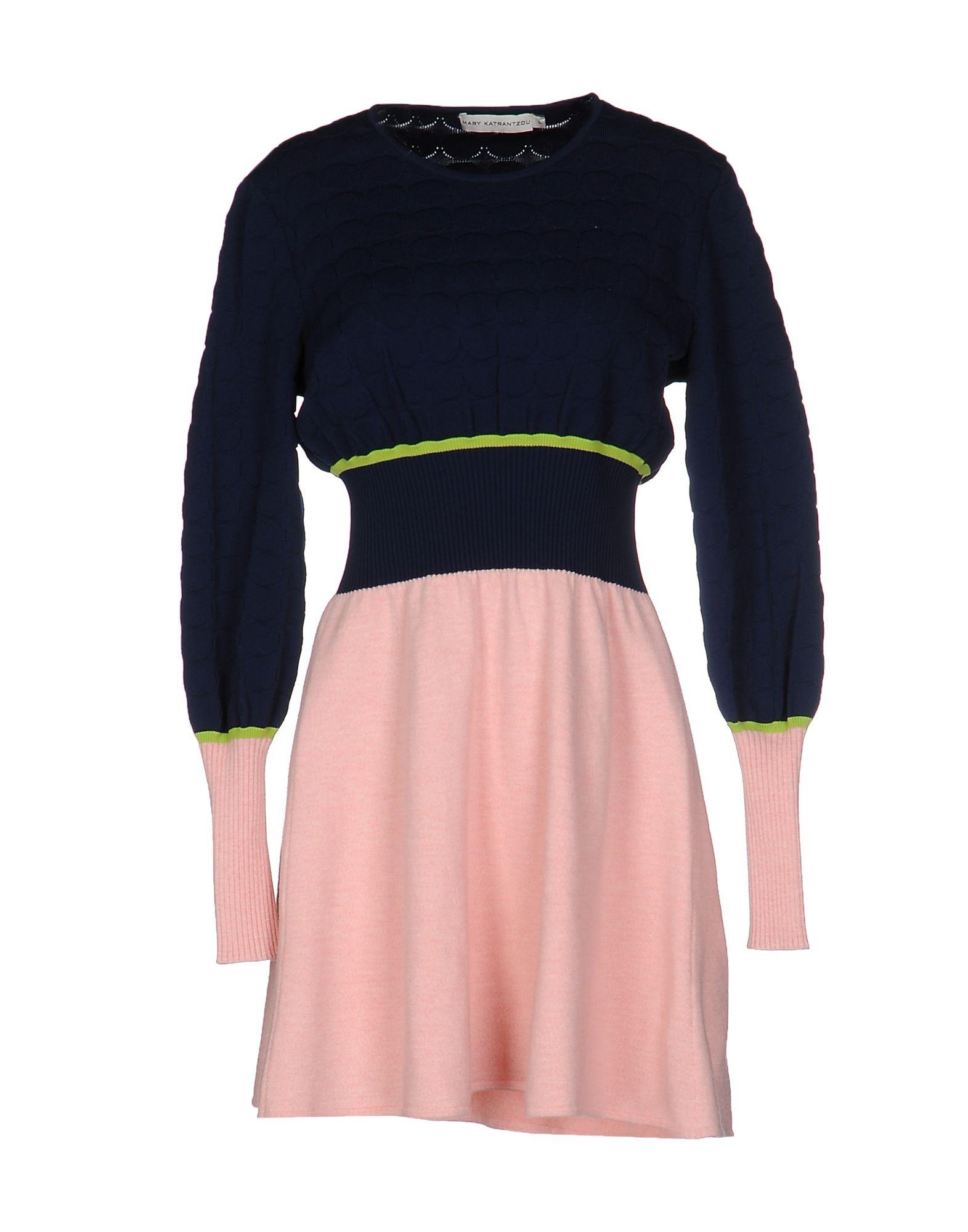 MARY KATRANTZOU Короткое платье вязаное платье