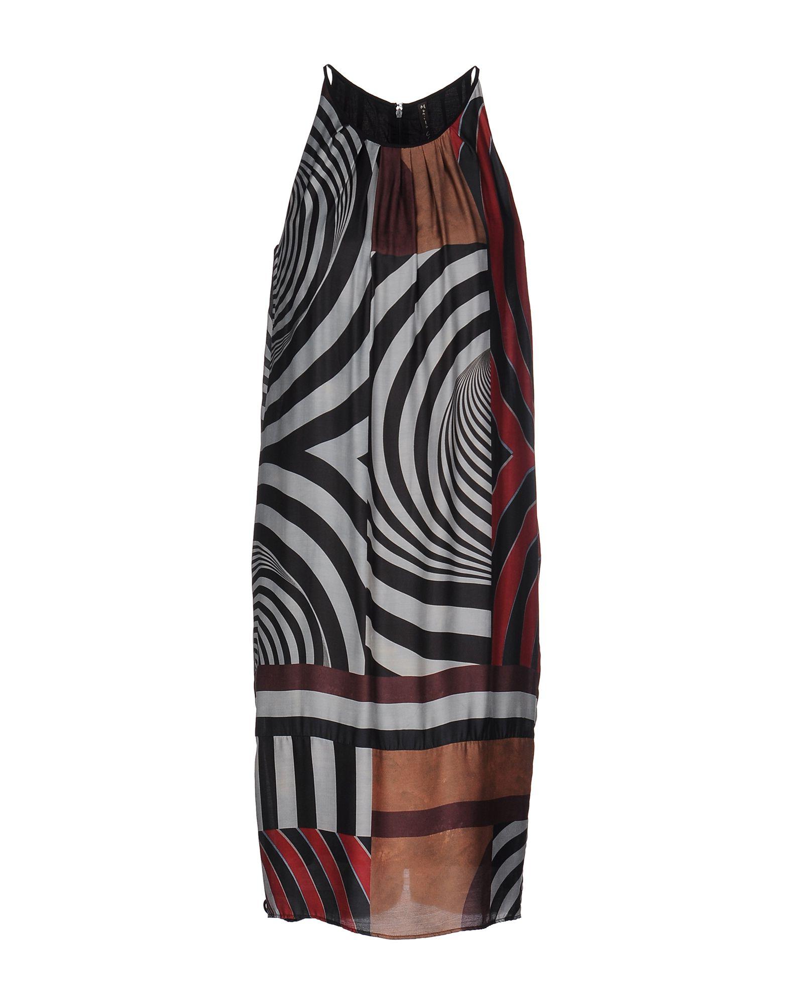 MANILA GRACE Платье до колена manila grace длинное платье