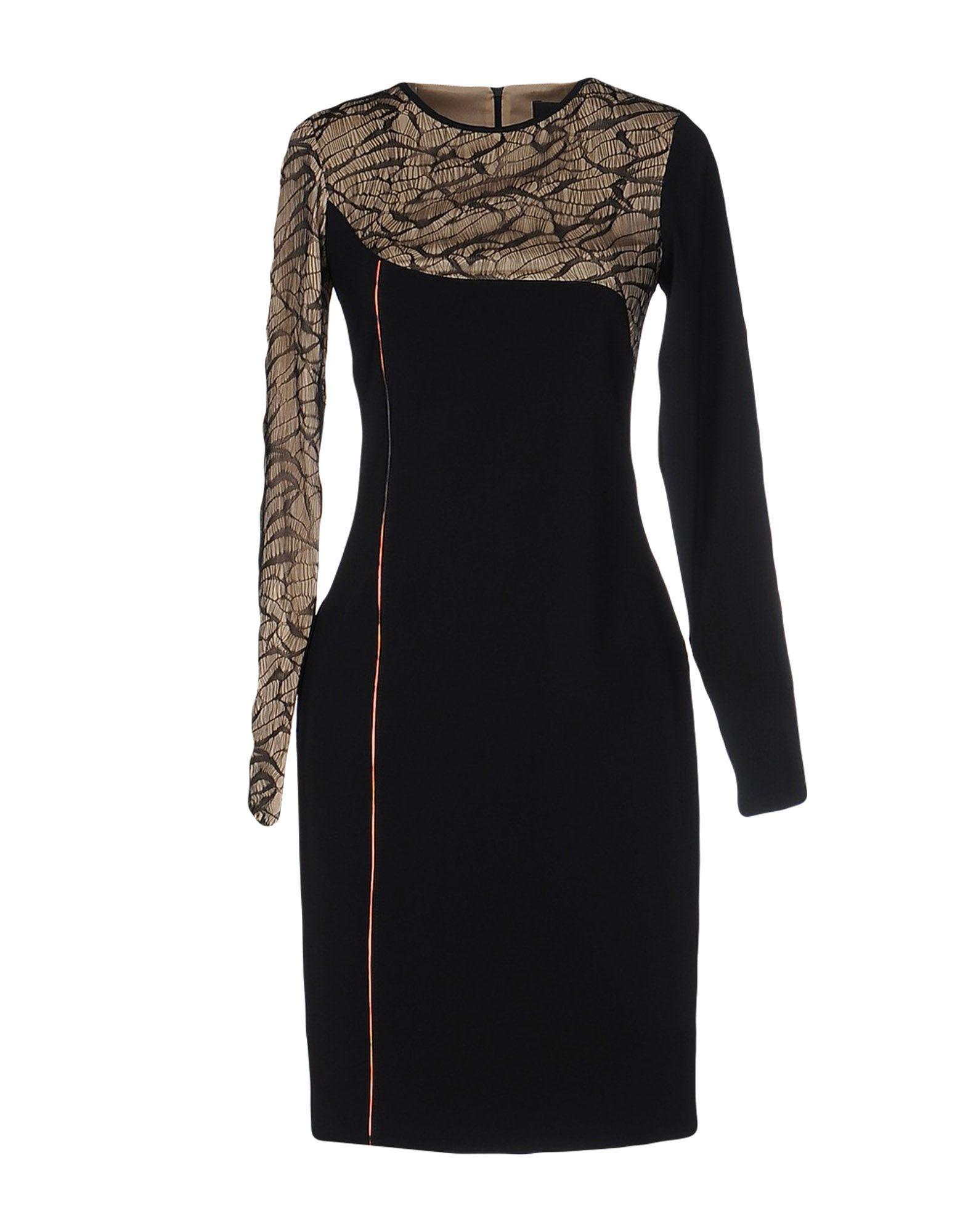 CRISTIANO BURANI Short Dress in Black