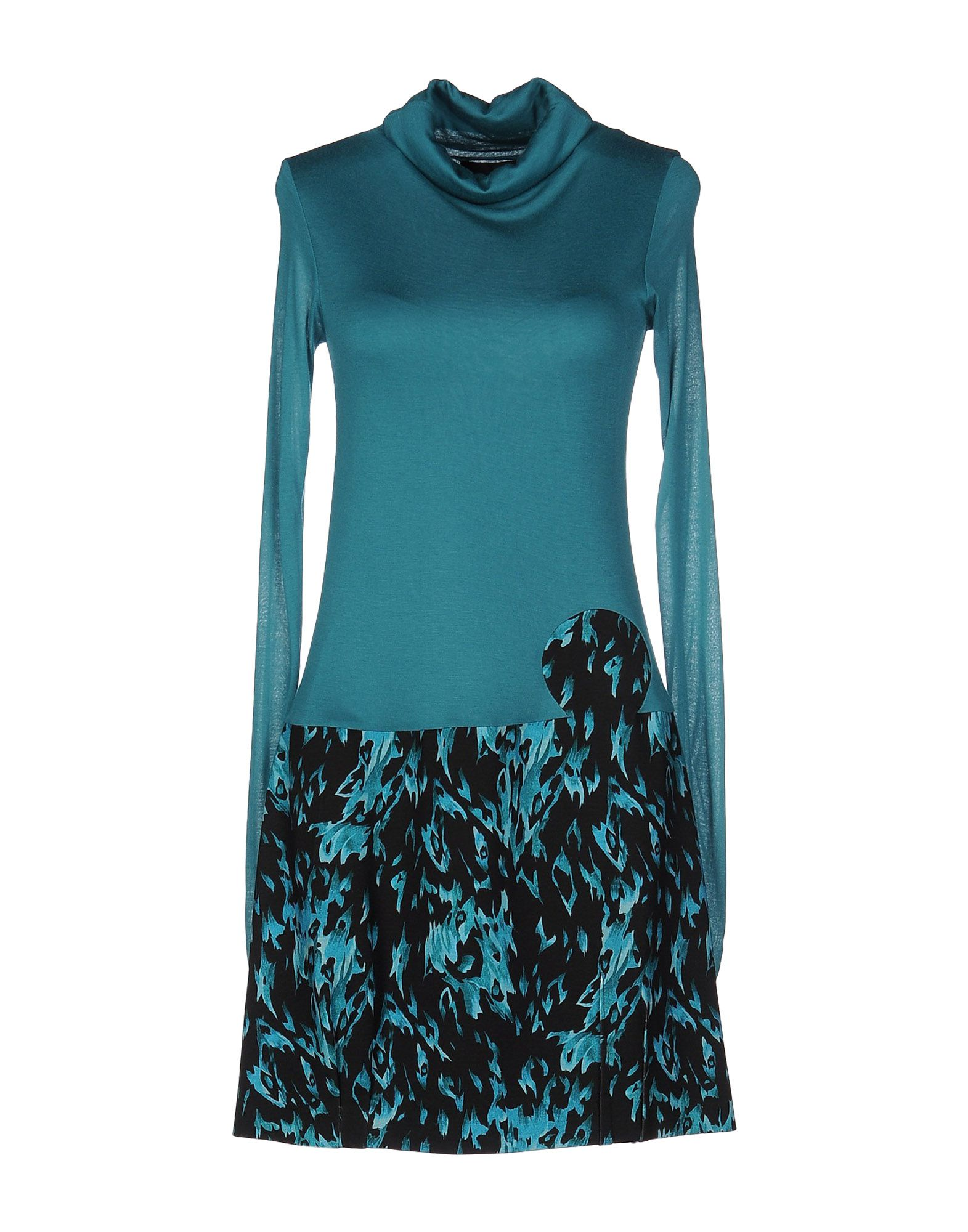 CRISTIANO BURANI Короткое платье mariella burani le sportive пиджак