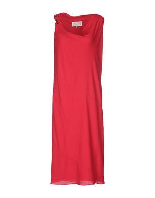MAISON MARGIELA Damen Knielanges Kleid Farbe Fuchsia Größe 5 Sale Angebote Klein Döbbern