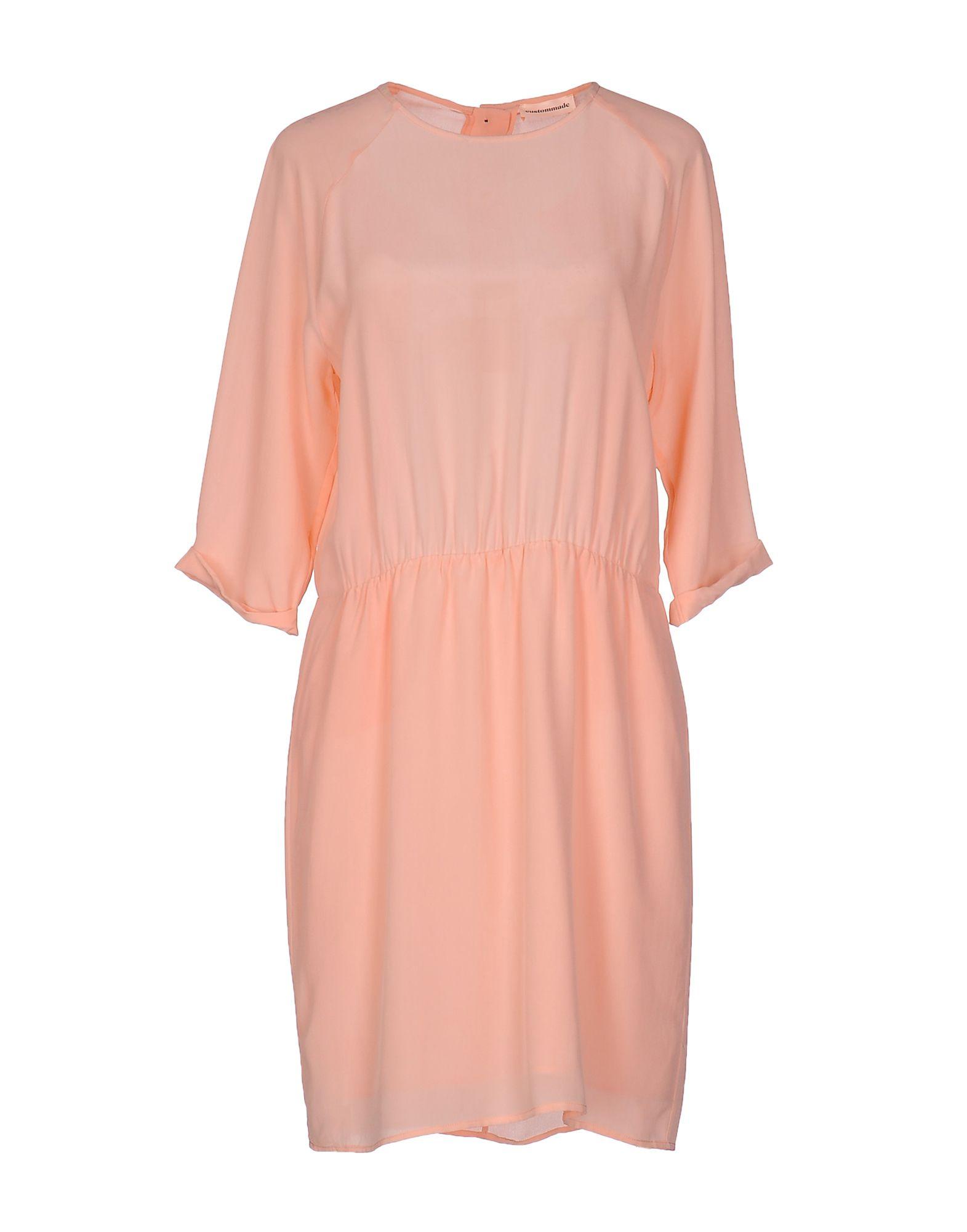 CUSTOMMADE Short Dresses in Light Pink